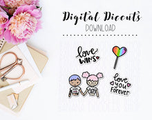 Diecut Set - Love Wins (FF + MM available)