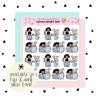Lola and Maya Planner Friends Stickers