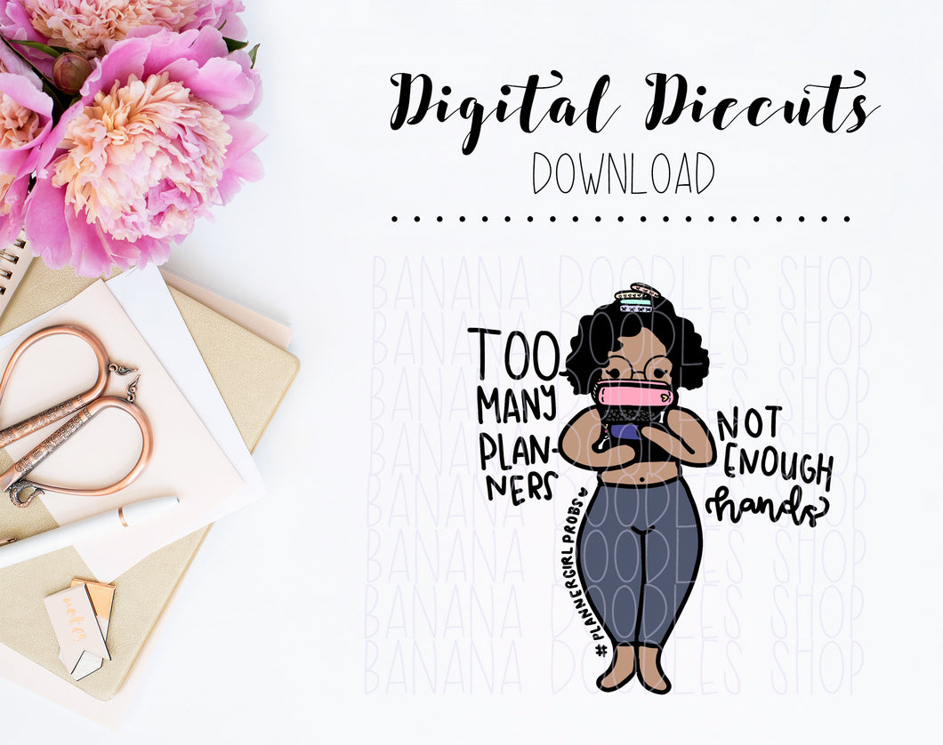 Digital Diecut - Maya Thick Babe