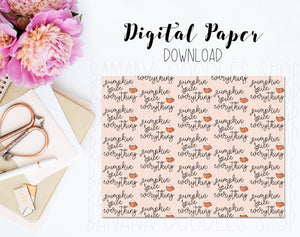 Digital Paper - PSL Everything