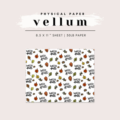 Vellum - Hello Fall