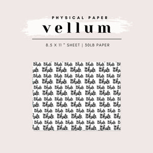 Vellum - Inhale, Exhale