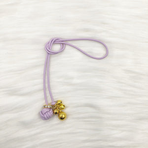Limited Edition Monkey Fist Knot Bookmark with Gold Jingle Bells