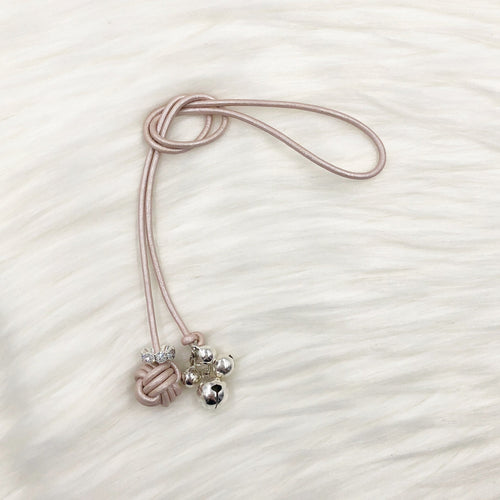 Limited Edition Monkey Fist Knot Bookmark with Silver Jingle Bells