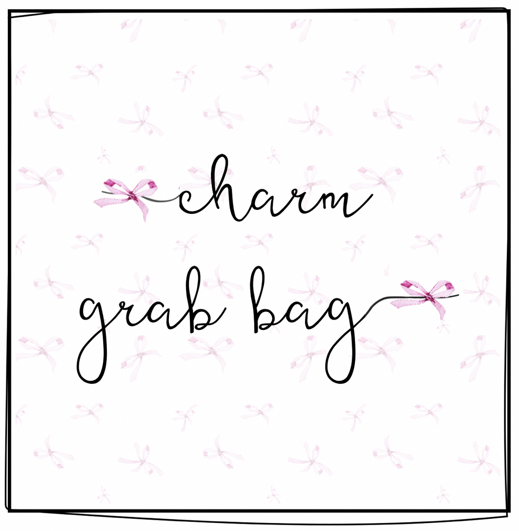 Charm Grab Bag - Monkey Fist Knot Leather Bookmark/Charm