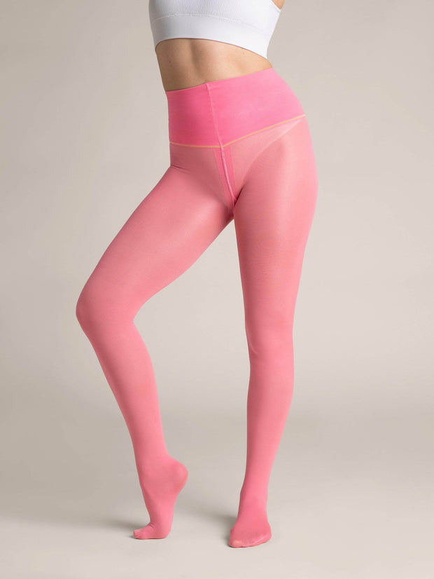 Color Pop Luxury Semi-Sheer Tights - Sheertex