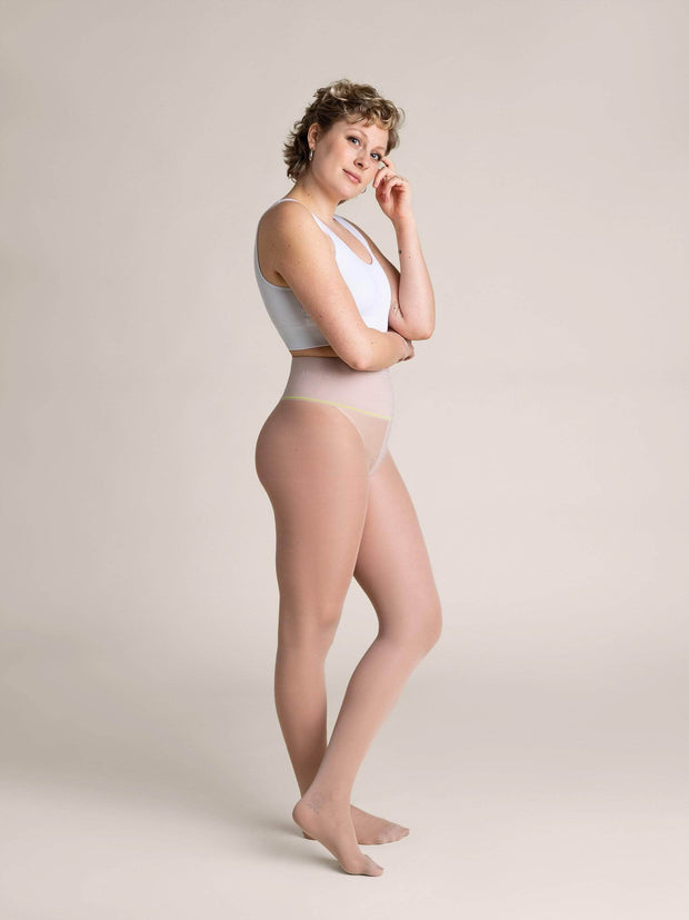 Nude Sheer Tights X-Small / N02 - Light: best for neutral and rosy undertones / Single - Sheertex