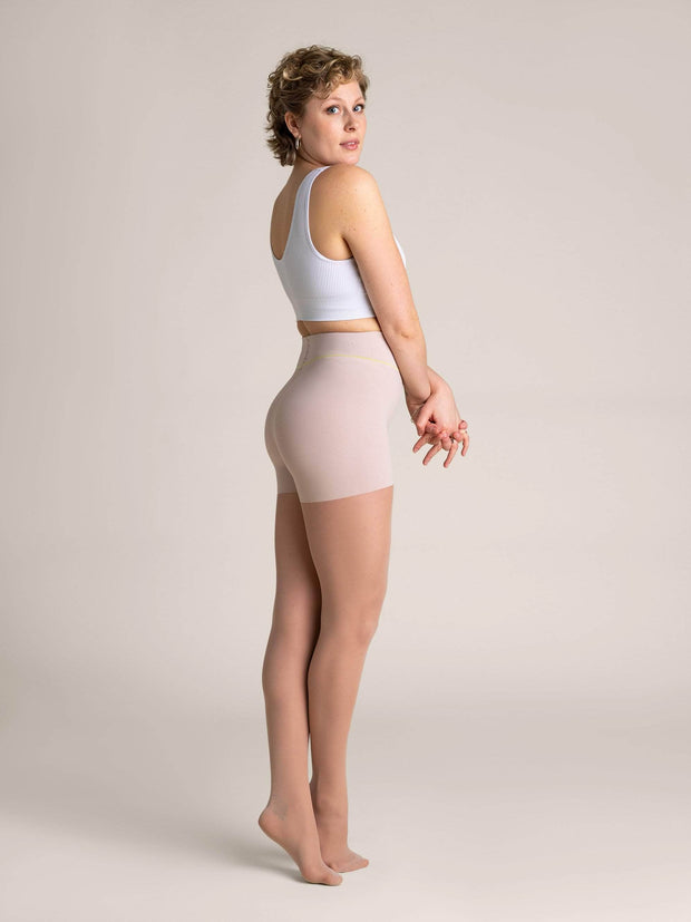 Nude Shaping Sheer Tights X-Small / N02 - Light: best for neutral and rosy undertones / Single - Sheertex