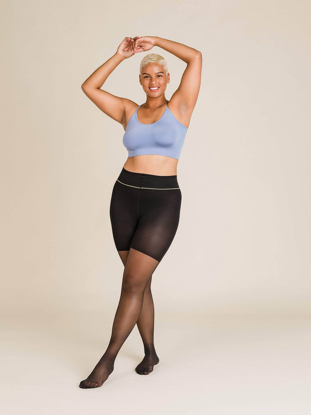 Shaping Ultrasheer Tights Large / Single / Black - Sheertex