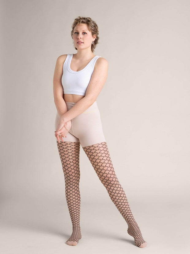 Mermaid Nude Shaping Sheer Tights X-Small / N02 - Light: best for neutral and rosy undertones / Single - Sheertex