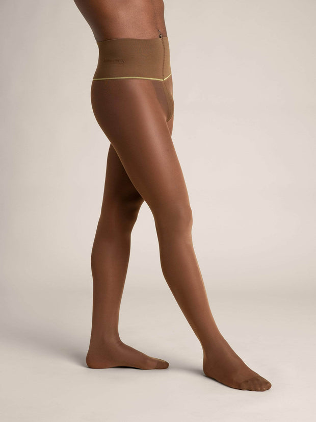 Nude Sheer Tights - Sheertex