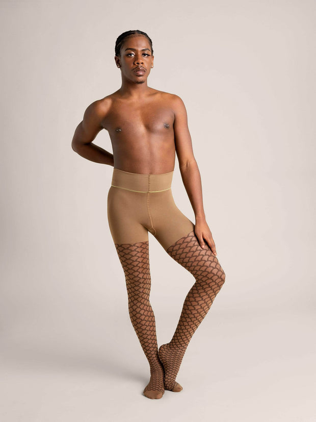 Mermaid Nude Shaping Sheer Tights X-Small / N10 - Medium Brown: best for neutral undertones / Single - Sheertex
