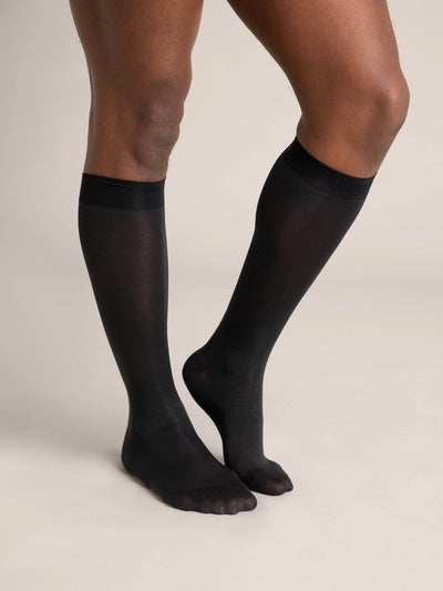 Sheer Knee High Socks - Sheertex