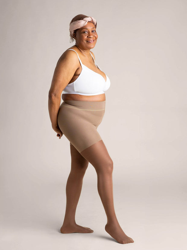 Nude Shaping Sheer Tights X-Small / N08 - Light Brown: best for neutral and golden undertones / Single - Sheertex