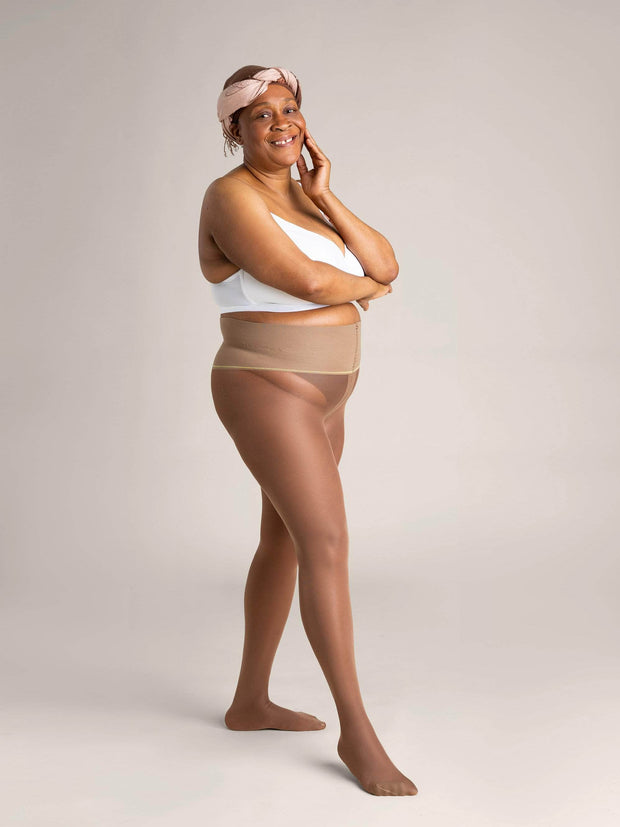 Nude Sheer Tights X-Small / N08 - Light Brown: best for neutral and golden undertones / Single - Sheertex
