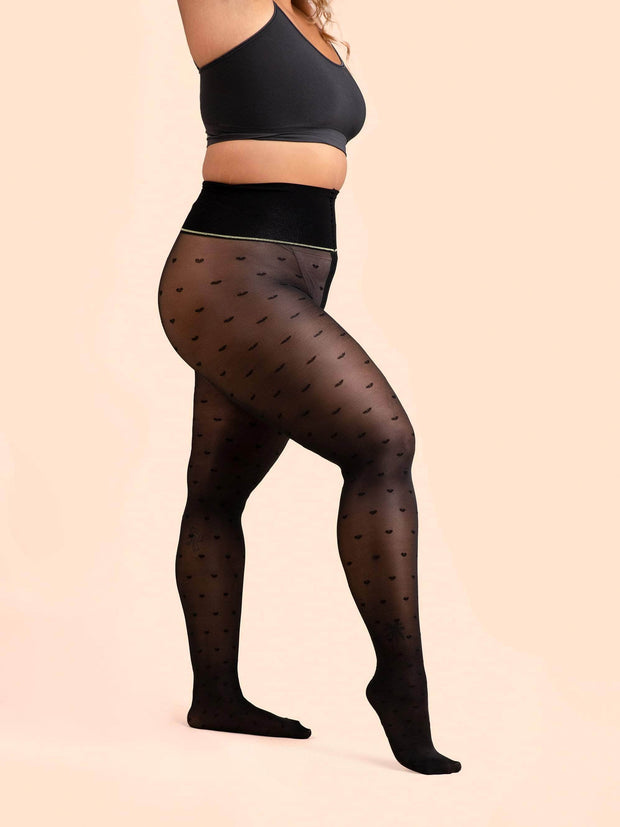 Cross My Heart Sheer Tights - Sheertex