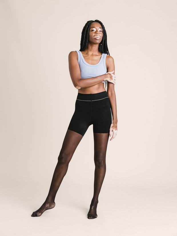 Shaping Ultrasheer Tights Small / Single / Black - Sheertex