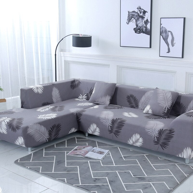 LavishChair™ Premium Sofa Covers for L Shaped Sectional Sofa
