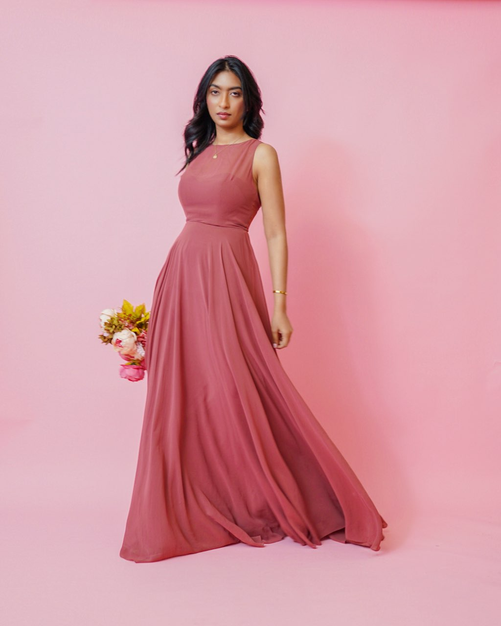 Desert Rose Maxi Dress