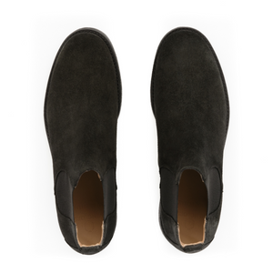 Suede Chelsea Boots | Anthracite
