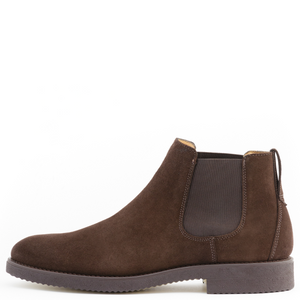 Suede Chelsea Boots | Brown