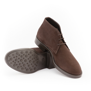 Elite Suede Desert Boots | Brown