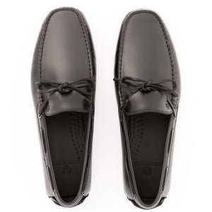 Prominence Leather Moccasin | Black