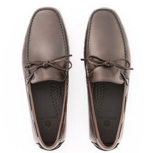 Prominence Leather Moccasin | Dark Brown
