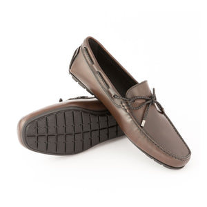 Influence Leather Moccasin | Dark Brown