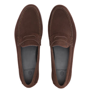 Verve Suede Loafer | Brown