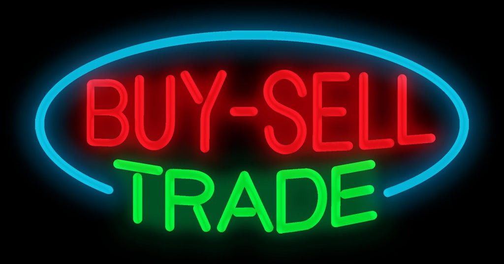 Buy-Sell Trade Neon Sign
