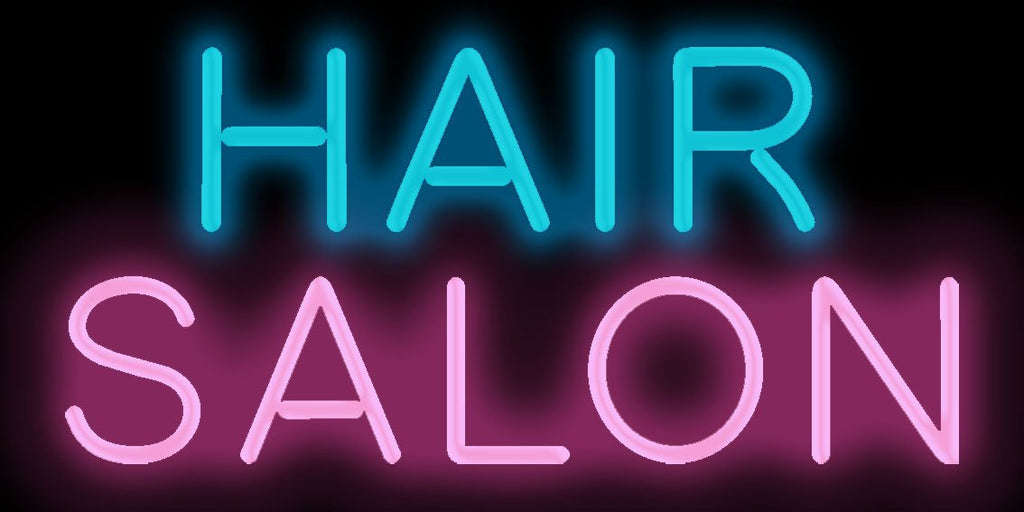 Hair Salon Neon Sign