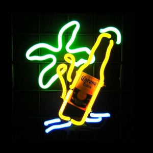 Beach Beer Neon Sculpture