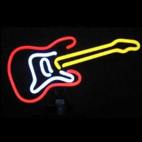 Guitar II Neon Sculpture