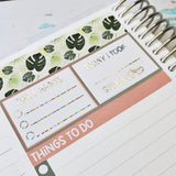 Foiled Daily Tracker Boxes Daily Habits Tracker Box for Adorably Amy Designs Daily Duo Kits - Adorably Amy Designs