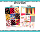 Vertical All About That Bow Mouse Inspired Planner Sticker Kit for Erin Condren, Happy Planner or Any Other Planner - Adorably Amy Designs