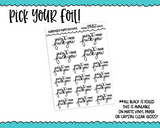 Foiled Hand Lettered And By K Snarky Planner Stickers for any Planner or Insert - Adorably Amy Designs