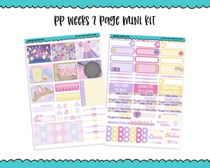 PP Weeks Best Day Ever Movie Princess Themed Weekly Kit sized for PP Weeks Planner or ANY Vertical Insert - Adorably Amy Designs
