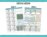 Vertical Cuddle Weather Winter Themed Planner Sticker Kit for Vertical Standard Size Planners or Inserts - Adorably Amy Designs