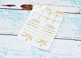 Foiled Christmas Holidays Doodled Corners and Dividers Overlay Planner Stickers for any Planner or Insert - Adorably Amy Designs