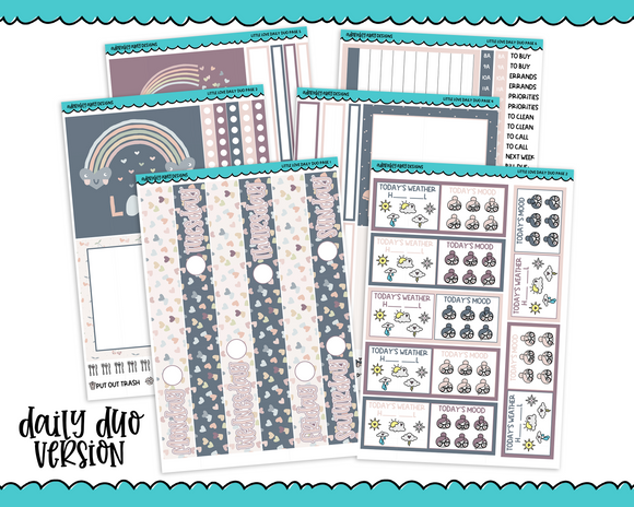 Daily Duo Little Love Weekly Planner Sticker Kit for Daily Duo Planner
