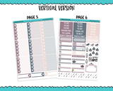Vertical Little Love Planner Sticker Kit for Vertical Standard Size Planners or Inserts