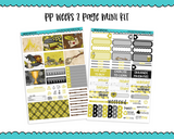 PP Weeks Loyal and True Wizard Magic Wizarding World Themed Weekly Kit sized for PP Weeks Planner or ANY Vertical Insert - Adorably Amy Designs