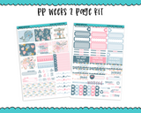 PP Weeks Mother's Heart Mother's Day and Child Love Themed Weekly Kit sized for PP Weeks Planner or ANY Vertical Insert - Adorably Amy Designs