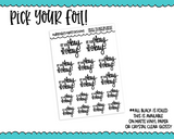 Foiled Hand Lettered Okay to Not Be Okay Planner Stickers for any Planner or Insert - Adorably Amy Designs