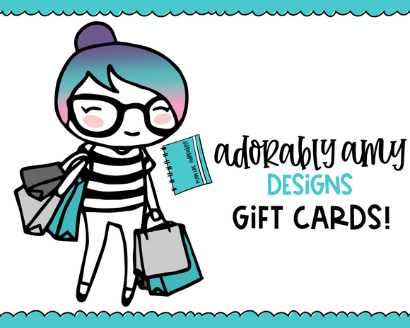 AAD Gift Cards - Adorably Amy Designs