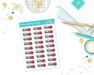 Let's Hunt Pocket Monsters Planner Stickers for Erin Condren, Plum Planner, Inkwell Press, Filofax, Kikki K or Any Size Planners - Adorably Amy Designs
