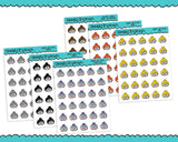Planner Girls Character Stickers Emoticons Planner Stickers for Erin Condren, Plum Planner, Inkwell Press, Kikki K or Any Size Planners