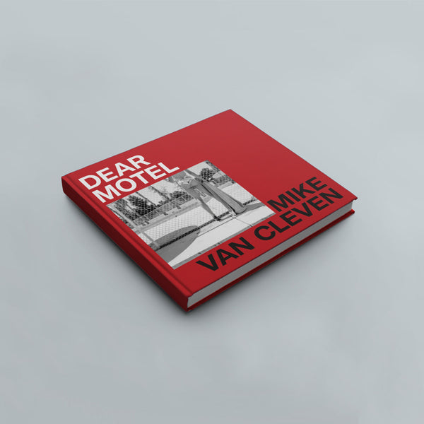 DEAR MOTEL, the book (red cover edition)