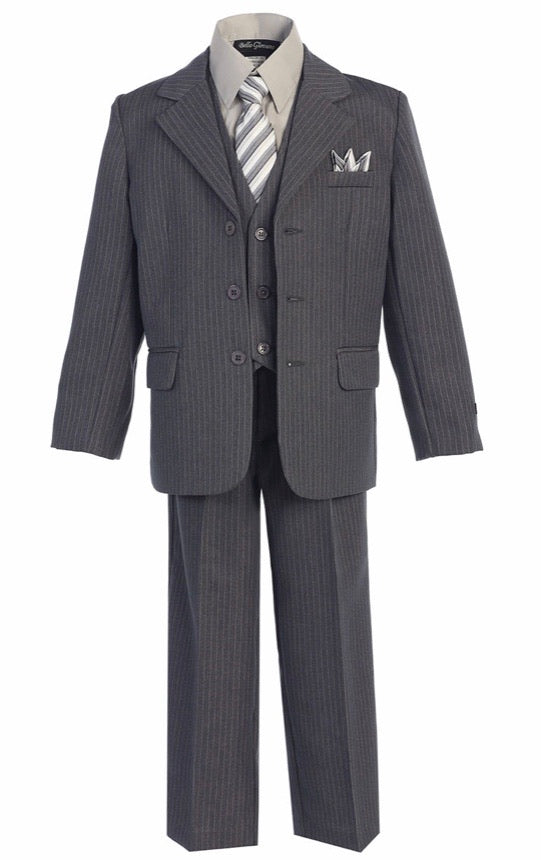 Gray 5-Piece Suit